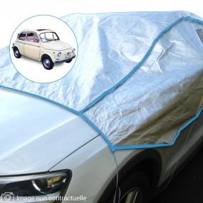 Demi-housse mixte en Tyvek Fiat 500D découvrable