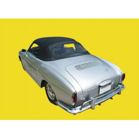 Capote Karmann Ghia cabriolet en Alpaga Stayfast® bordeaux - Destockage !