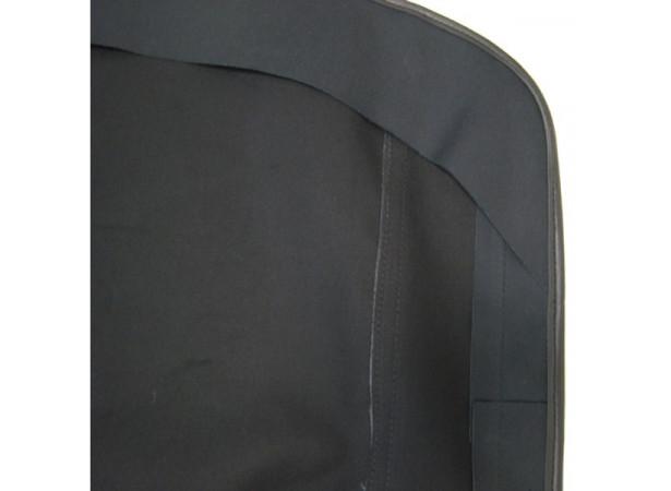 Capotes auto Autobianchi Bianchina Eden Roc cabriolet coton double face Pininfarina avec lunette arriere en PVC