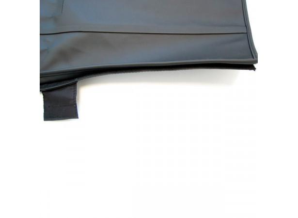 Capotes auto BMW 1600/2002 cabriolet en vinyle sur toile coton avec lunette arriere en PVC