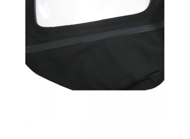 Capotes auto BMW Baur E21 cabriolet en Alpaga Twillfast avec lunette arriere en PVC