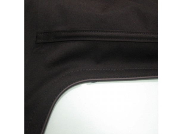 Capotes auto Bmw E36 cabriolet en Alpaga Twillfast II avec lunette arriere en PVC et poches laterales