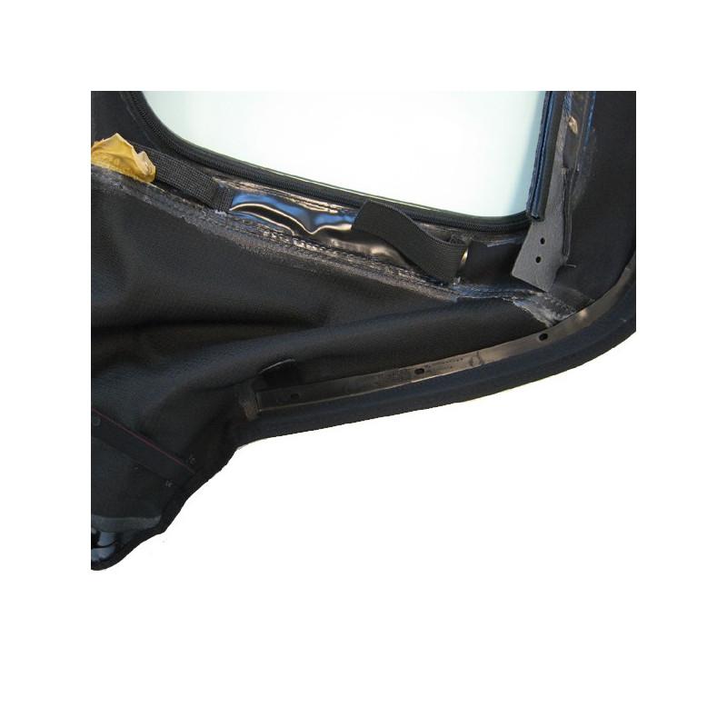 capote o e m bmw e36 cabriolet en alpaga twillfast noire sans les poches lat rales. Black Bedroom Furniture Sets. Home Design Ideas