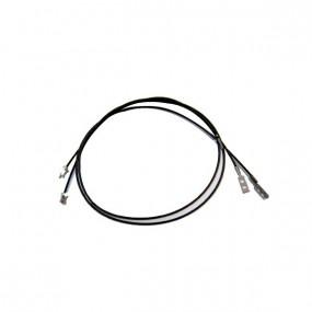 Câbles latéraux de tension capote de BMW E36 cabriolet