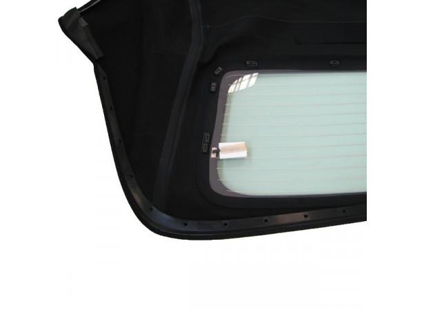 Capotes auto Bmw E46 cabriolet en Alpaga Twillfast avec lunette arriere en verre avec dégivrage