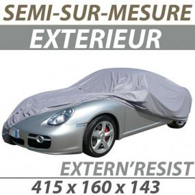 Housse extérieure semi-sur-mesure en PVC ExternResist - Housse auto : Bache protection cabriolet