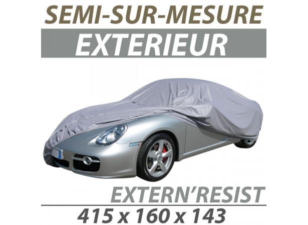 Housse extérieure semi-sur-mesure en PVC ExternResist - Housse auto   Bache  protection c6d8ed03aea5