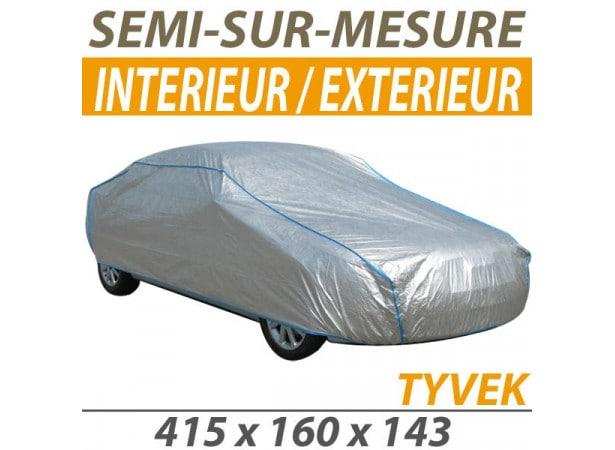 bache voiture housse protection auto semi sur mesure interieure exterieure tyvek pour cabriolet. Black Bedroom Furniture Sets. Home Design Ideas