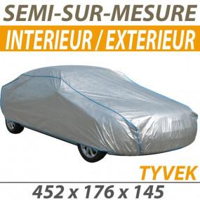 Housse intérieure/extérieure semi-sur-mesure en Tyvek® (L) - Housse auto : Bache protection cabriolet