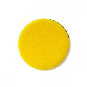 Revêtement en velours jaune
