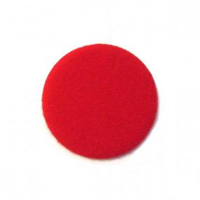 Revêtement en velours rouge