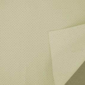 Revêtement en vinyle ivoire perforé