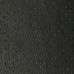 Revêtement en vinyle noir perforé