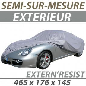 Housse extérieure semi-sur-mesure en PVC ExternResist (08) - Housse auto : Bache protection cabriolet