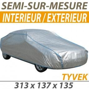 Housse intérieure/extérieure semi-sur-mesure en Tyvek® (S6) - Housse auto : Bache protection cabriolet