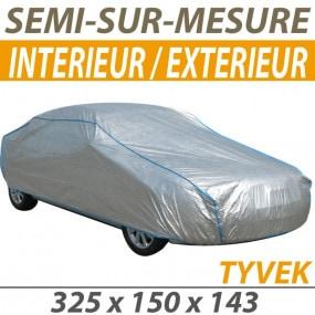 Housse intérieure/extérieure semi-sur-mesure en Tyvek® (S5) - Housse auto : Bache protection cabriolet
