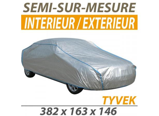 bache voiture housse protection auto semi sur mesure interieure exterieure tyvek pour cabriolet s. Black Bedroom Furniture Sets. Home Design Ideas