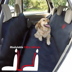 Housse de protection banquette arrière cabriolet / Spécial chien