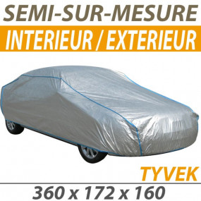 Housse intérieure/extérieure semi-sur-mesure en Tyvek® (FS1) - Housse auto : Bache protection cabriolet
