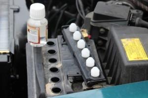 Entretien batteries