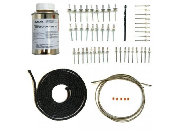 Kit de montage capote standard avec cordelette