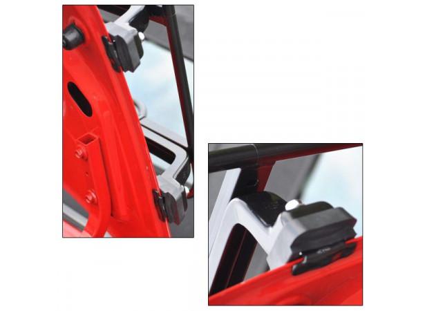 Porte-bagages Acier inoxydable Azur - 135x42cm (510143)