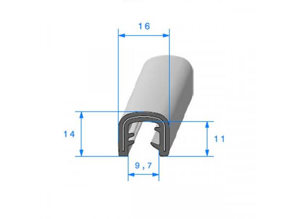 Joint armature métallique en caoutchouc E.P.D.M (26538)