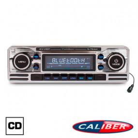 Autoradio Retrolook Caliber (RCD120BT) 12V finition chrome