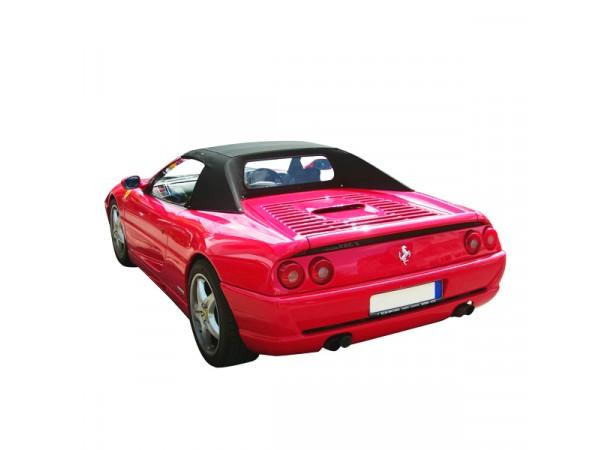 Capote auto Ferrari 355 Spider cabriolet en Alpaga Sonnenland SN avec lunette arrière en PVC