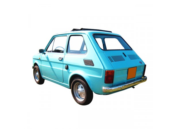 Capote toit ouvrant Fiat 126 découvrable en vinyle