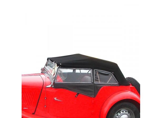 Vitres latérales pour MG TD cabriolet en Alpaga