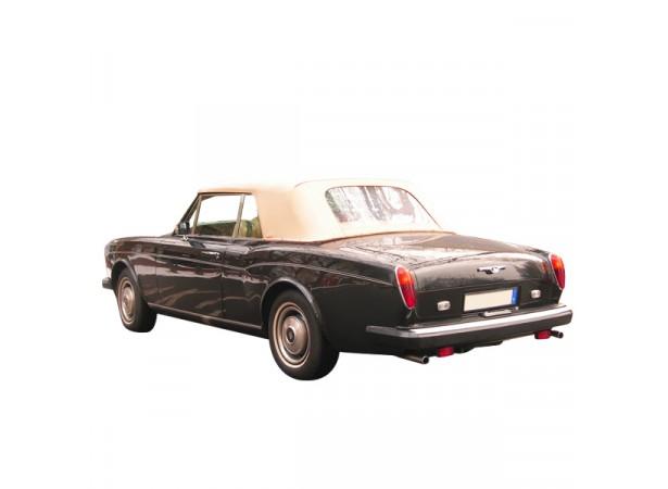 Capote auto Rolls Royce Silver Shadow cabriolet en Alpaga Sonnenland avec lunette arrière en PVC