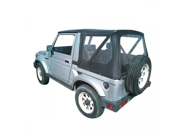 Capote 4x4 Suzuki Samurai SJ 410 cabriolet en Vinyle sur toile coton
