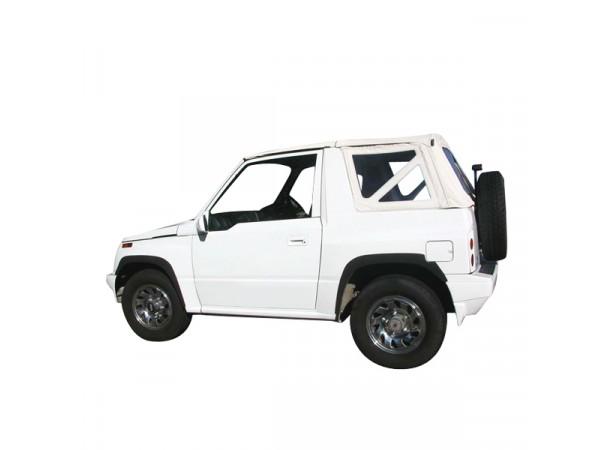 Capote 4x4 Suzuki Vitara MK1 cabriolet avec ouverture arrière en bache PVC