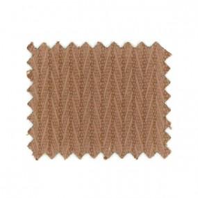 Tissus Chevrons marron en 135 cm
