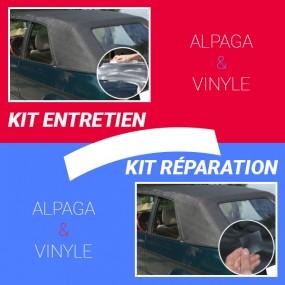 Kit rénovation/entretien ou réparation capotes