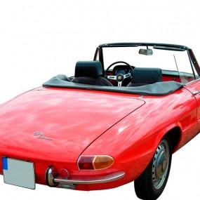 Couvre-capote Alfa Romeo Duetto cabriolet en simili cuir