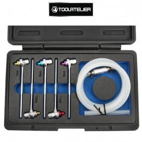 Mallette de clés 6 pans pour purge de freins et embrayage hydraulique (6 pièces) - ToolAtelier