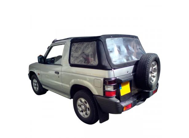Capote 4x4 (partie arrière) Mitsubishi Pajero V20 cabriolet en Alpaga Twillfast II