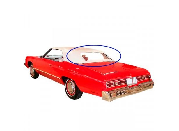 Lunette arrière pour capote de Chevrolet Caprice cabriolet
