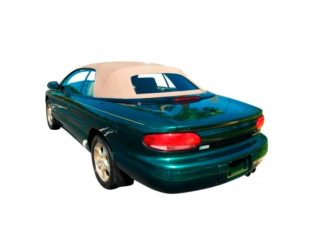 Capote Chrysler Stratus cabriolet en Alpaga LM avec lunette verre