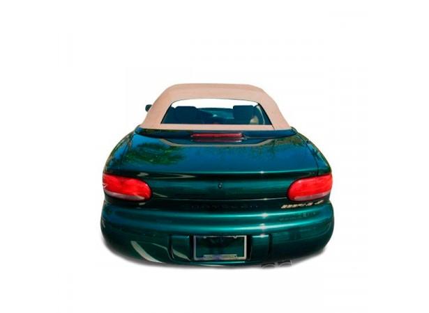 Lunette arrière en verre pour capote en Vinyle GA de Chrysler Stratus cabriolet