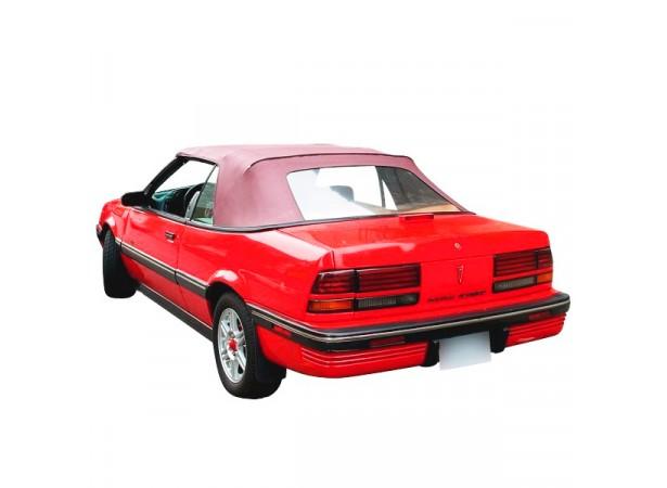 Capote Pontiac Sunbird cabriolet (92-94) en vinyle