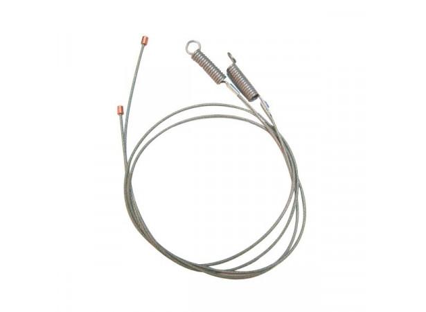 Câbles latéraux pour capote de Mercury Capri cabriolet