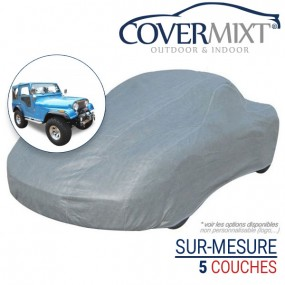 Housse protection voiture sur-mesure 4x4 Jeep CJ-5 (1976/1983) - Covermixt