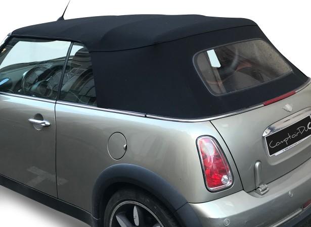 Capotes auto OEM Bmw Mini Cooper cabriolet en Alpaga Twillfast avec lunette verre dégivrante