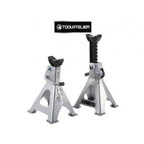 Kit de 2 chandelles (3 tonnes) avec goupilles de sécurité - ToolAtelier®