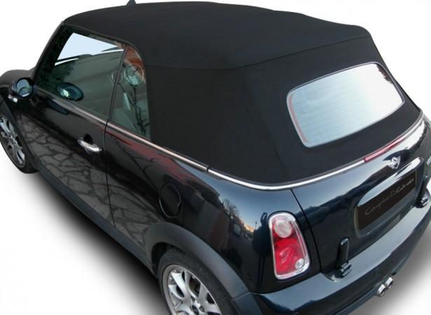 Capotes auto Bmw Mini Cooper cabriolet en Alpaga Twillfast RPC avec lunette verre dégivrante