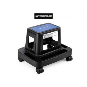 Tabouret d'atelier roulant avec rangement 150 kg max - ToolAtelier