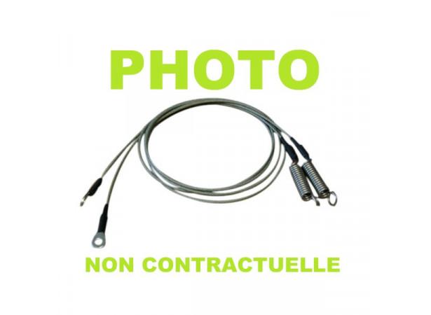 Câbles latéraux pour capote de Buick Le Sabre cabriolet
